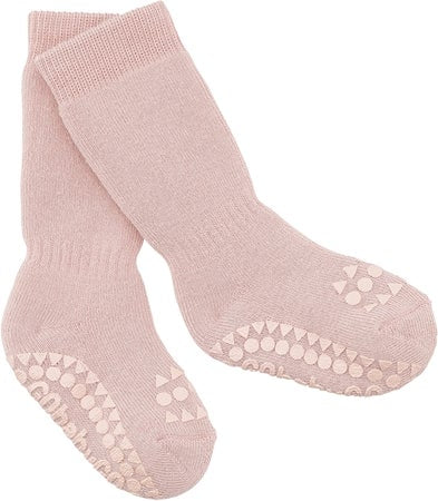 GobabyGo non-slip socks - Dusty rose