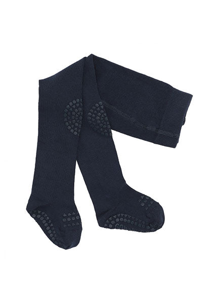 GobabyGo non-slip tights -  Navy Blue