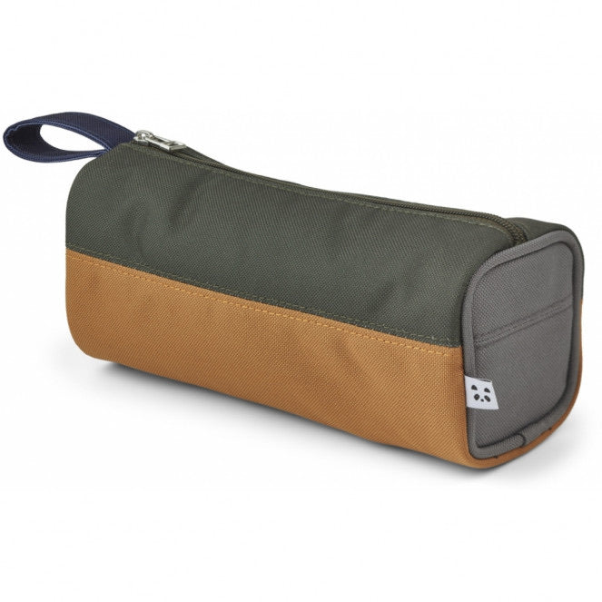 Fiona Pencil Case - Hunter green multi mix