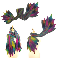 Embossed Phoenix Scarf Collection