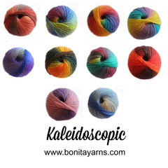 Kaleidoscopic Yarns