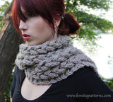 Knit-Look Braided Scarf - Bonita Patterns