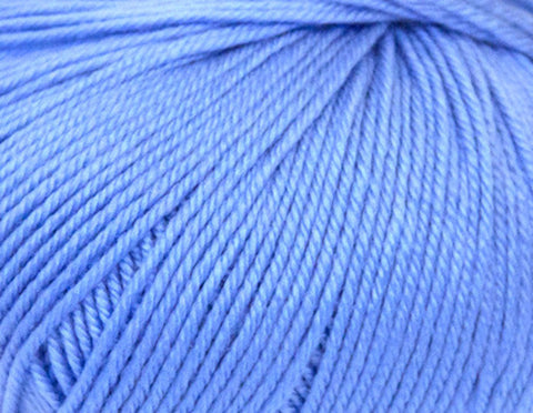 Ella Rae - Cozy Soft Solids - 24 Cornflower Blue - Bonita Patterns