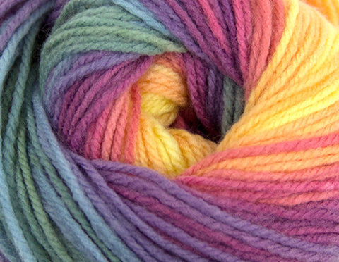 Bonita Yarns - Dream Baby - Light Rainbow Shades - Bonita Patterns