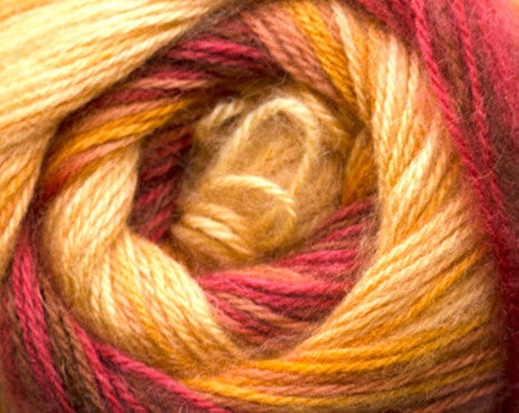 Bonita Yarns - Angora Cloud- Fire Degrade - Bonita Patterns