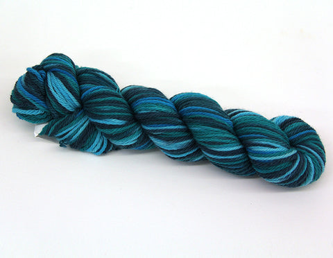 Cascade Yarn - 220 Superwash Sports Multis - 112 Teals - Bonita Patterns