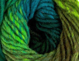 Noro - Kureyon - Lime Teal Greens Wine Nut 332
