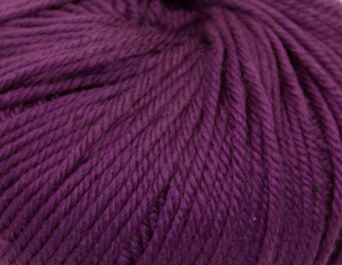 Ella Rae - Cozy Soft Chunky Solids - 210 Purple Eggplant - Bonita Patterns