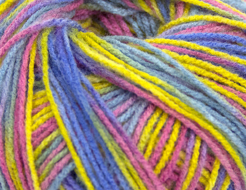 Bonita Yarns - Baby Cloud - Multicolor Mix - Bonita Patterns
