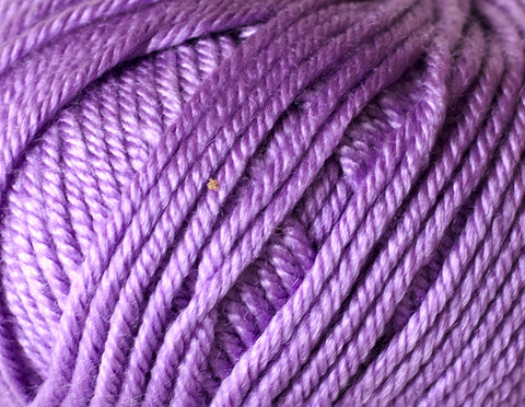 Ella Rae - Cozy Soft Chunky Solids - 204 Blueberry Purple - Bonita Patterns
