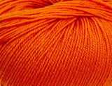 Ella Rae - Cozy Soft Solids - 25 Tangerine - Bonita Patterns