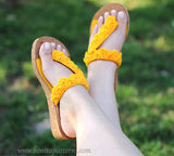 Trio Street Ready Sandals Pattern