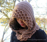 Trio Crocodile Stitch Hood & Hooded Cape - Bonita Patterns