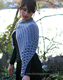 Asymmetrical Capelet - Bonita Patterns