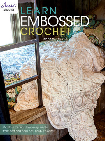 Learn Embossed Crochet (autographed copy) - Bonita Patterns