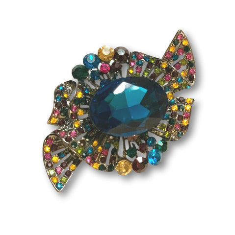 Saphire Splendor Brooch - Bonita Patterns