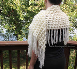Crocodile Stitch Shawl - Bonita Patterns