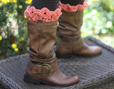 Crocodile Boot Toppers