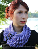 Knit- Look Braid Stitch Cowl