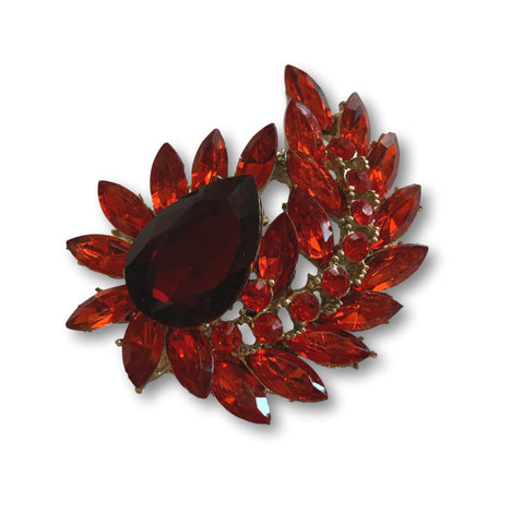 Rubi Splendor Brooch - Bonita Patterns