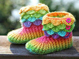 Crocodile Boots (Child) - Bonita Patterns