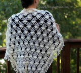 Dainty Loops Shawl - Bonita Patterns