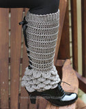 Crocodile Legwarmers (Adult) - Bonita Patterns