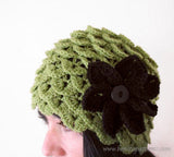 Crocodile Cloche - Bonita Patterns