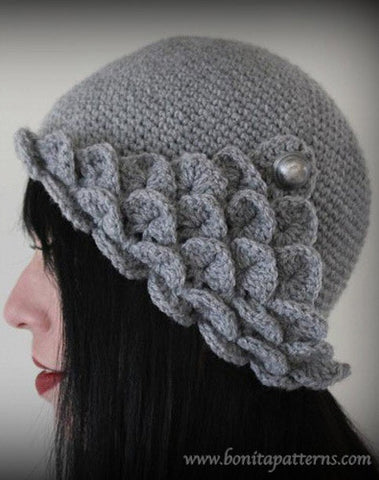 Crocodile Flapper Hat Bonita Patterns