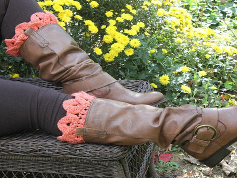 Crocodile Boot Toppers - Bonita Patterns