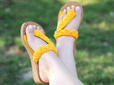 Crocodile Sunny Sandals - Bonita Patterns