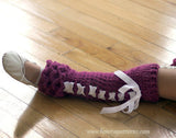 Crocodile Legwarmers (Kids) - Bonita Patterns