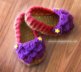Crocodile Baby Loafers - Bonita Patterns