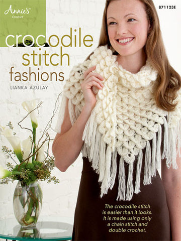 Crocodile Stitch Fashions (autographed copy) - Bonita Patterns