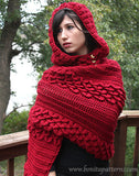 Crocodile Hooded Cape - Bonita Patterns