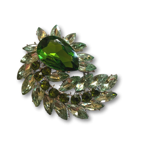 Green Splendor Brooch - Bonita Patterns