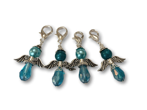 Angelical CA Crystal- #019 Set of 4 Stitch Markers - Bonita Patterns
