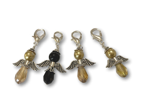 Angelical CA Crystal - #020 Set of 4 Stitch Markers - Bonita Patterns
