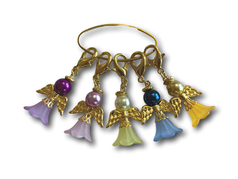Angelical M2 - #018 Set of 5 Stitch Markers