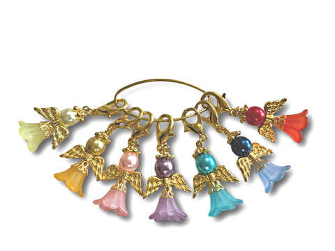 Angelical M2 - #015 Set of 7 Stitch Markers