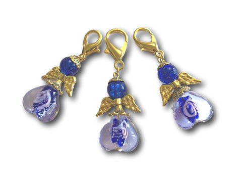 Angelical M3 - #057 Set of 3 Stitch Markers - Bonita Patterns