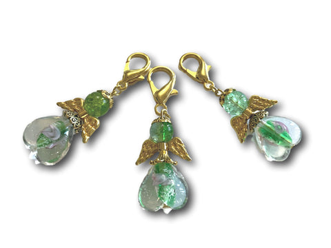 Angelical M3 - #059 Set of 3 Stitch Markers - Bonita Patterns