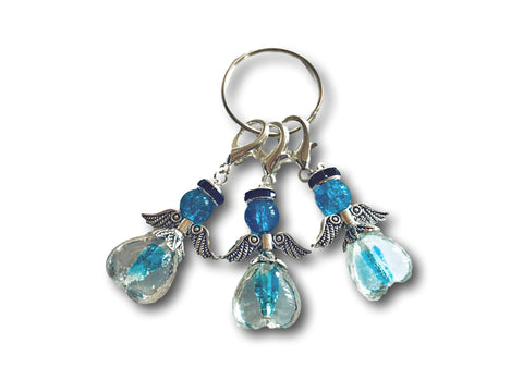 Angelical M3 - #023 Set of 3 Stitch Markers
