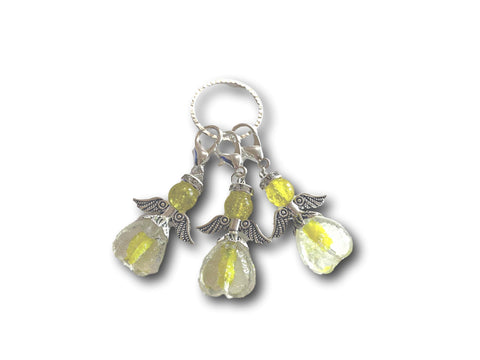 Angelical M3 - #025 Set of 3 Stitch Markers - Bonita Patterns