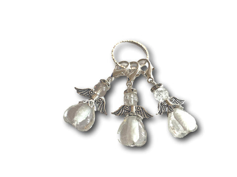 Angelical M3 - #026 Set of 3 Stitch Markers - Bonita Patterns