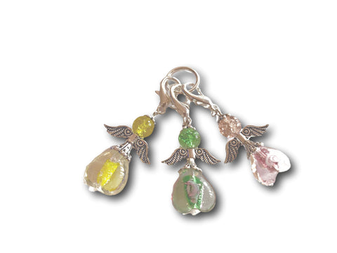 Angelical M3 - #027 Set of 3 Stitch Markers