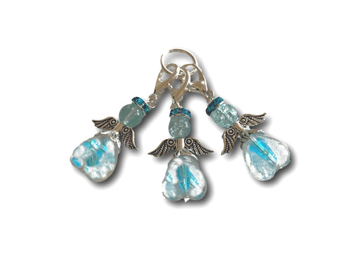 Angelical M3 - #028 Set of 3 Stitch Markers - Bonita Patterns