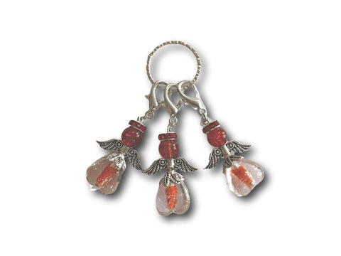 Angelical M3 - #029 Set of 3 Stitch Markers - Bonita Patterns
