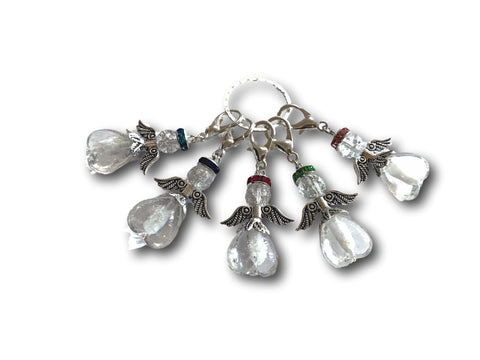 Angelical M3 - #031 Set of 5 Stitch Markers - Bonita Patterns