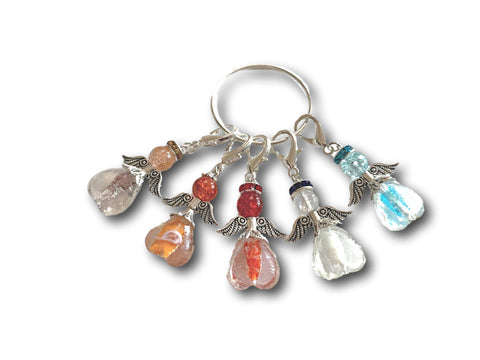 Angelical M3 - #032 Set of 5 Stitch Markers